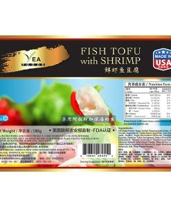Fish Tofu with Shrimp
