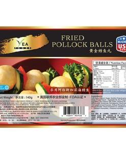 Fried Pollock Balls
